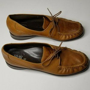 SAS Womens 8.5 Moccasin Comfort Handcrafted Shoes